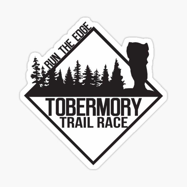 Tobermory Trail Race Weekend Logo Sticker