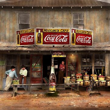 Store - Grocery - Mexicanita Cafe 1939 by mikesavad