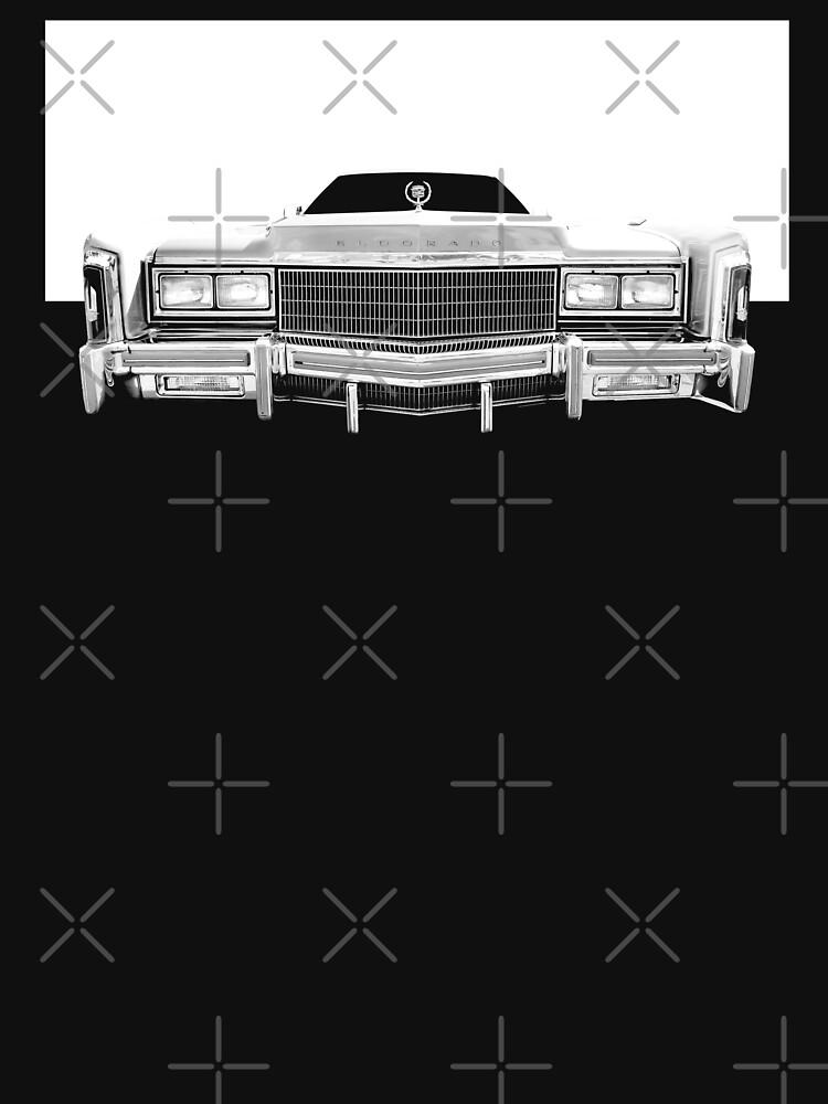 1977 Cadillac Eldorado Barritz - hoher Kontrast - 2 von mal-photography