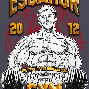 Escanor Gym by Retro-Freak