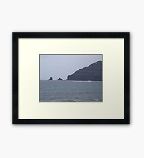 Punta Fariones, Lanzarote, Canary Islands Framed Print