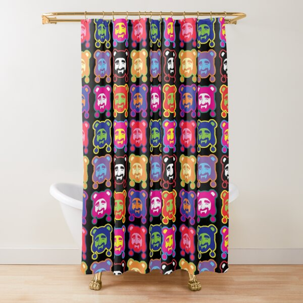 ADAM LIKES POP ART Shower Curtain