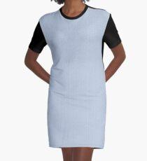 Silvery Graphic T-Shirt Dress