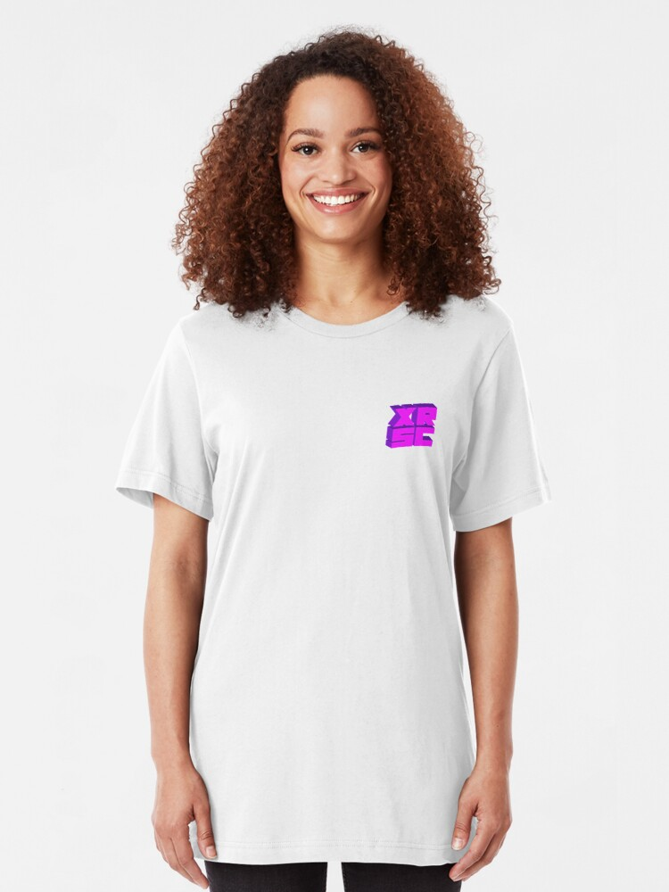 Alternate view of XRSC - Purple Slim Fit T-Shirt