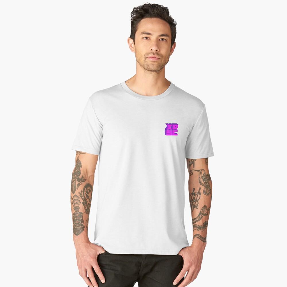 XRSC - Purple Men's Premium T-Shirt Front
