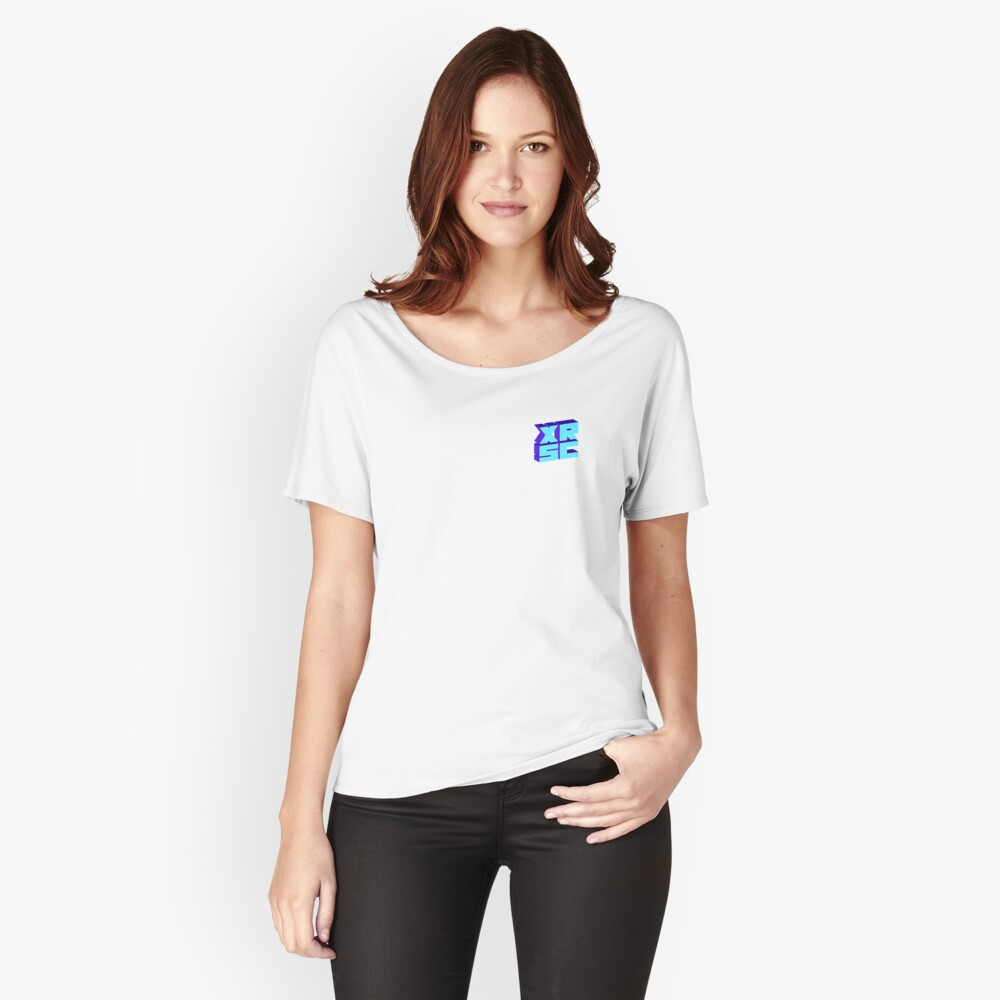 XRSC - Blue Relaxed Fit T-Shirt