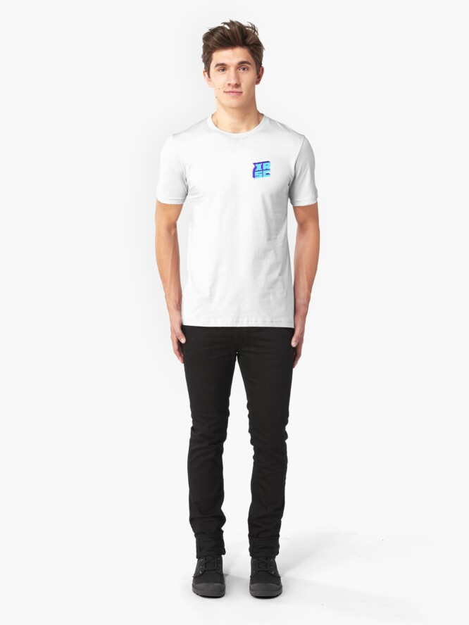 Alternate view of XRSC - Blue Slim Fit T-Shirt