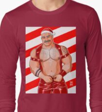 DADDY LIKES LEATHER - XMAS EDITION Long Sleeve T-Shirt
