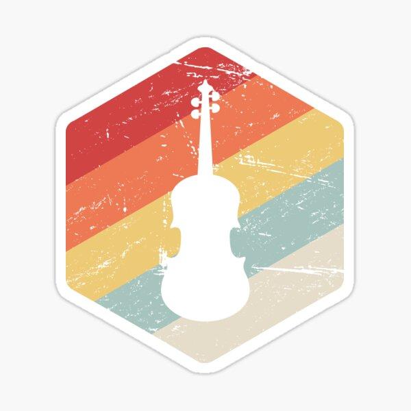 Retro Cello Teacher / Cello Lessons Gift Sticker