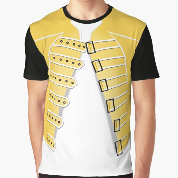 Freddie Yellow Jacket Graphic T-Shirt
