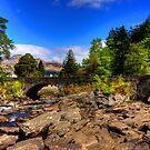Bridge Of Dochart by Tom Gomez