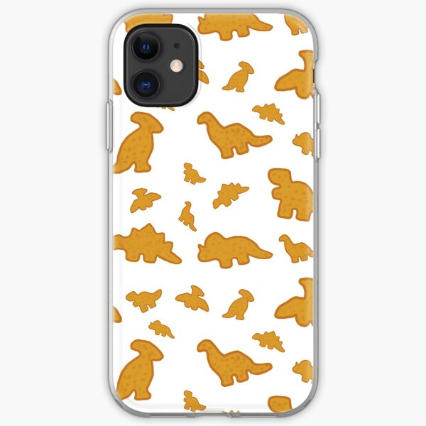 Dino Chicken Nuggets iPhone Soft Case