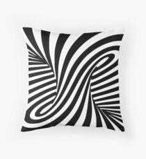 Trippy Hypnotic Vortex Spiral Art Floor Pillow