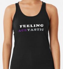 ASEXUALITY FEELING ACETASTIC ASEXUAL T-SHIRT Women's Tank Top