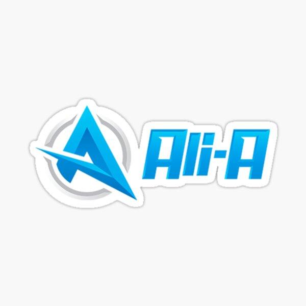 Ali-A Logo Sticker