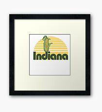 Indiana Corn Framed Print