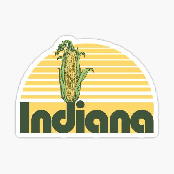 Indiana Corn Sticker