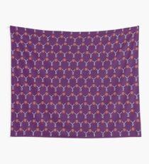 Anne Boleyn B necklace in purple Wall Tapestry