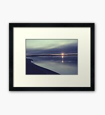 Winter Comes Framed Print