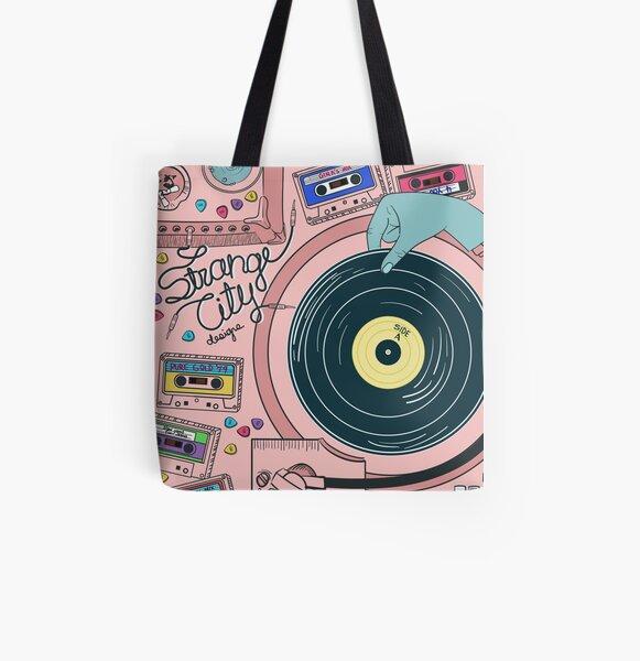 Strange City All Over Print Tote Bag