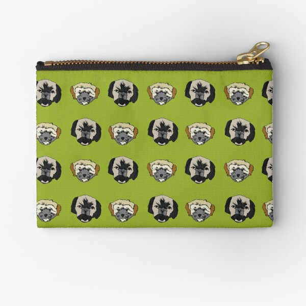 Starring Coco and Jazz Zipper Pouch