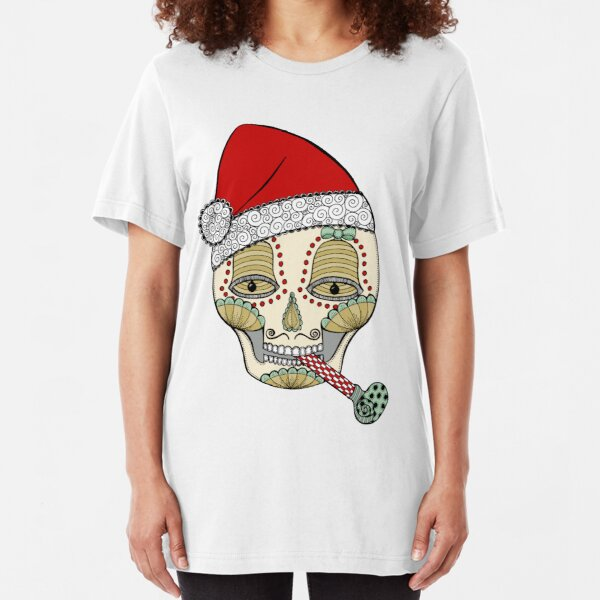 Eat,Drink and Be Merry Slim Fit T-Shirt