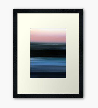 Time in Motion Framed Print