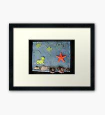 Under the Sea. Framed Print