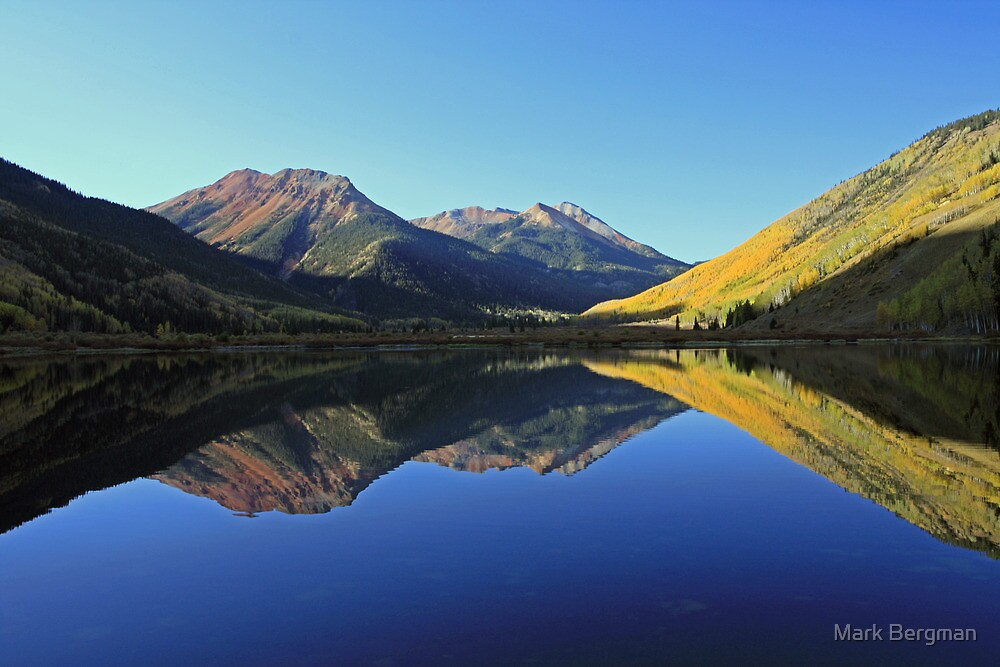 Quot Crystal Lake Red Mountains Ouray Colorado Quot By Mark