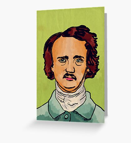 Poe Greeting Card