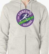 Concord Grapes - Crushing It Zipped Hoodie