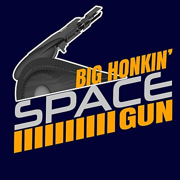 Colonel Jack O'Neill (With Two Ls) Big Honkin' Space Gun Quote by McPod