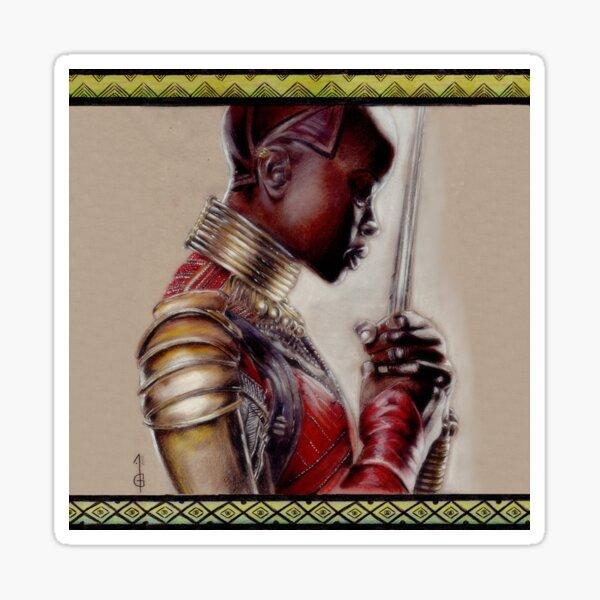 Warrior Okoye  Sticker