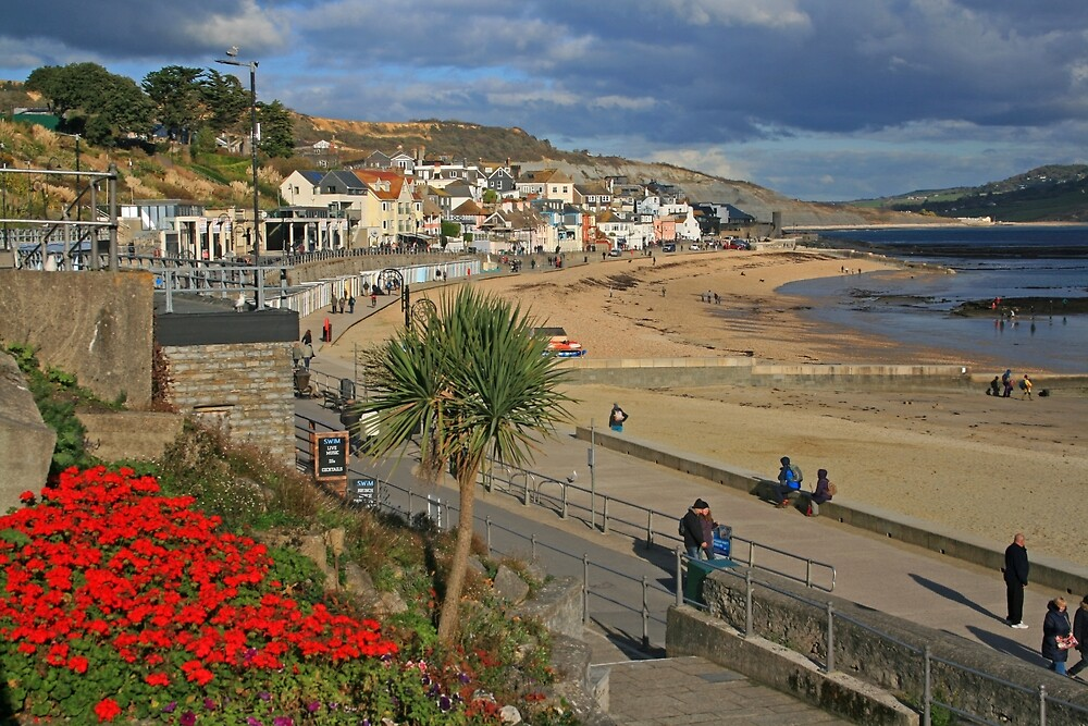The Promenade, Lyme Regis by RedHillDigital