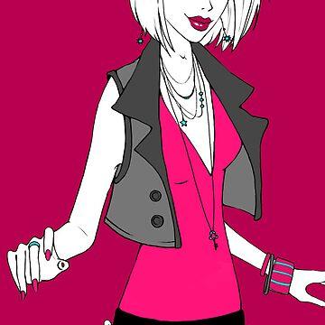 Punk Rock Princess by fyreling