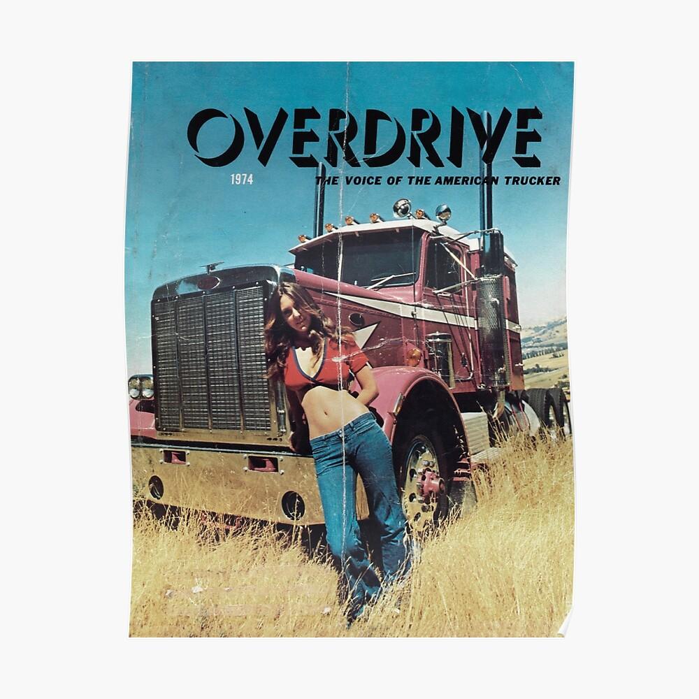 American Trucker Poster