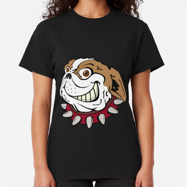 Bulldog with Spiked Collar Classic T-Shirt