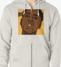 NBA YoungBoy Zipped Hoodie