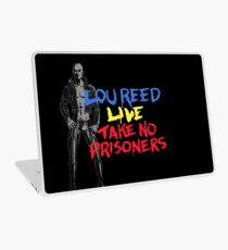Lou Reed Take No Prisoners Shirt Laptop Skin