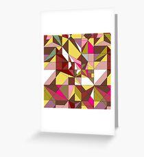 MOZAIK-RUBY Greeting Card