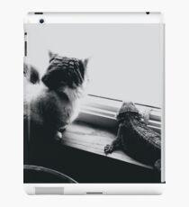 Cat and Lizard  iPad Case/Skin