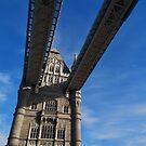 Tower Bridge, London by MissElaineous Designs