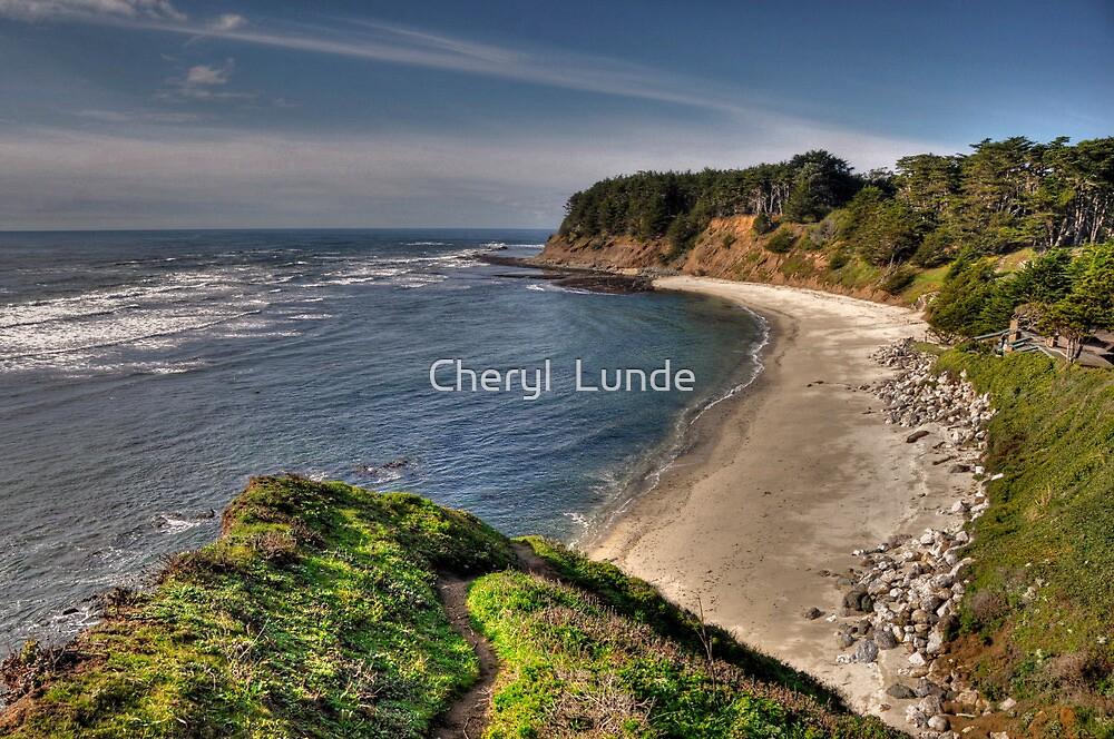 Half Moon Bay by Cheryl  Lunde