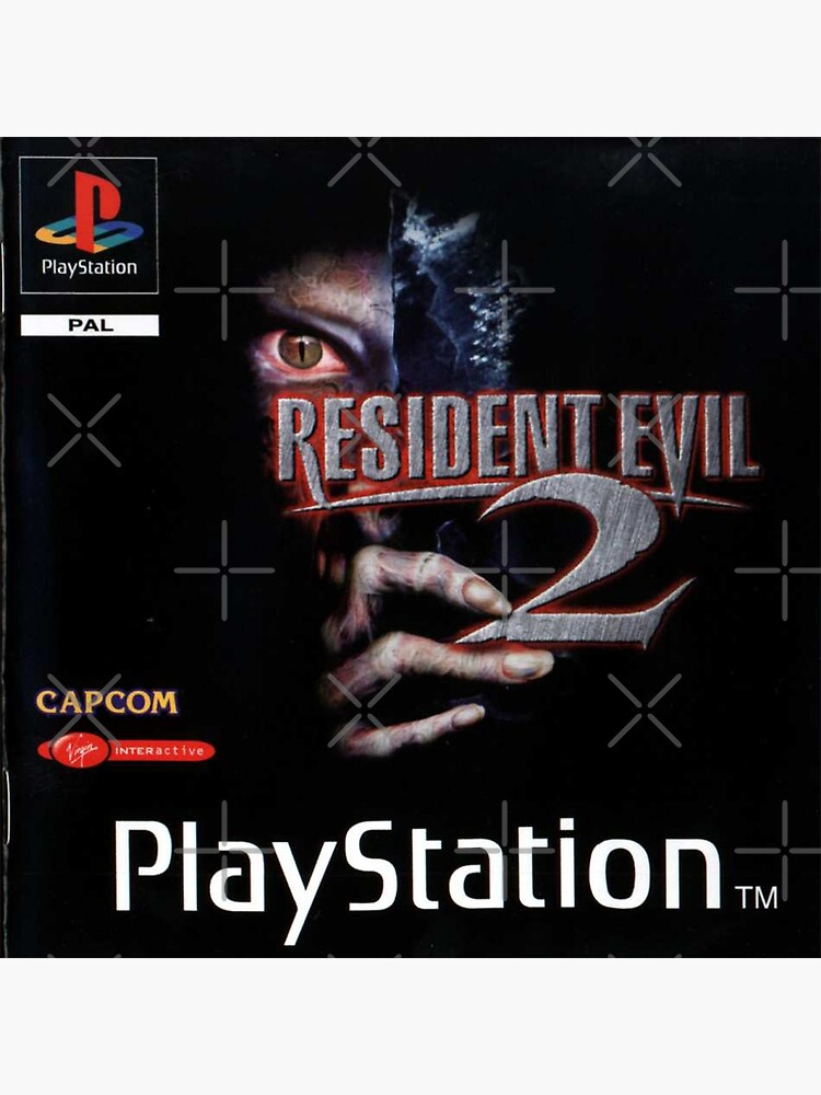resident evil 2 original box art