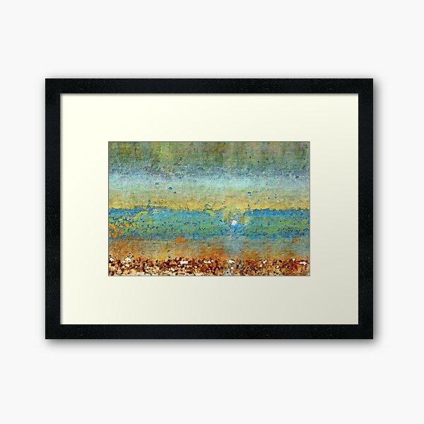 Incoming Waves Framed Art Print