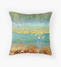 Incoming Waves Throw Pillow