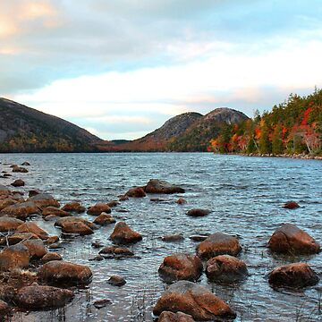 'Jordan Pond and the Bubbles' by SBricker