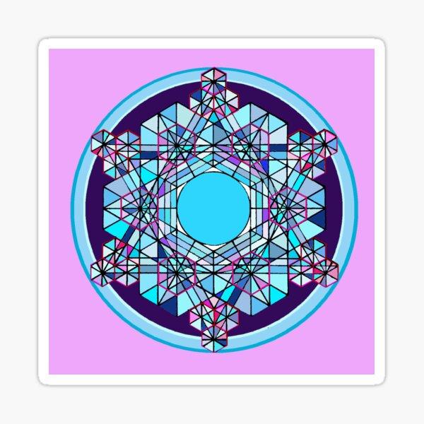 Crystal d'Eau Amour et Gratitude Sticker