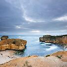 The Cove near Halladale Point by Elizabeth Tunstall