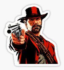 Arthur Morgan Red Dead Sticker